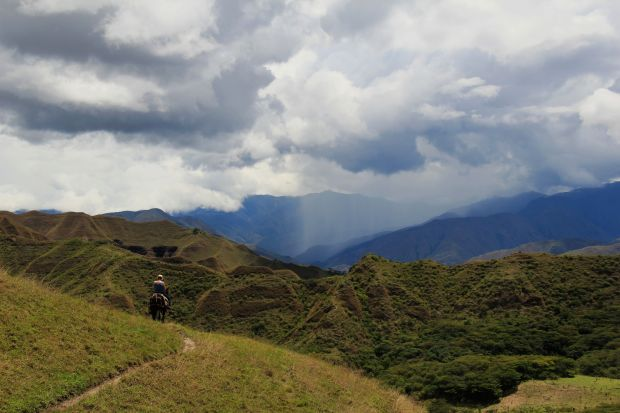 One of my favorite pictures I've taken in awhile. Rain in the Andes. I want to go back!