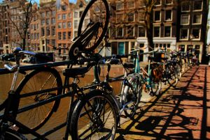 Amsterdam bicycle storage