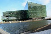 Harpa outside