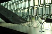 Harpa wine glass