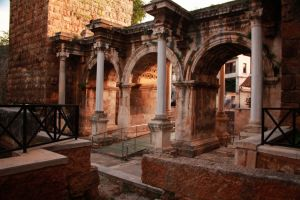 Hadrian's Gate, nearly the only thing to see in Antalya.