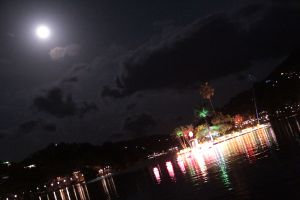 Kandy lake night