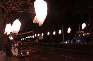 Kandy lantern streets