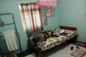 My room in Anuradhapura