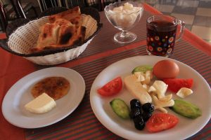 Diyarbakir breakfast before 2