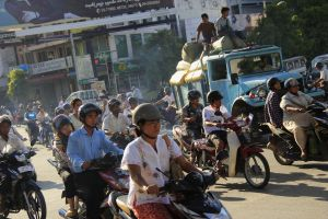 Mandalay traffic 3