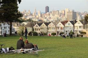 "Had to go back in the files to get an SF pic. The ""Painted Ladies."""