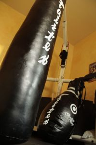 Muay Thai home gym