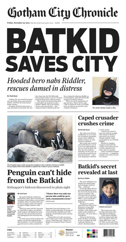 Batkid saves the city