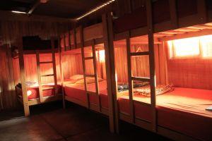 bunk beds dorm hostel Lima