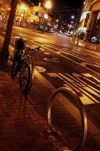 San Francisco night street 02