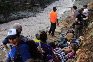 Peru cable car hiking trek