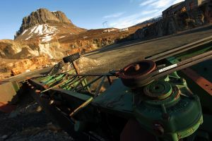 Iceland travel machinery