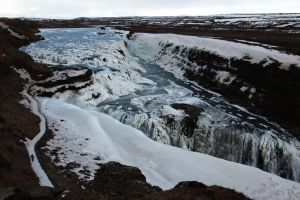 Gullfoss Iceland waterfall Golden Circle travel