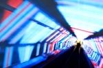 Atomium psychedelic escalator