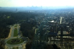 Atomium view over Brussels 2