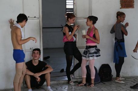 Ballet Havana Cuba practice