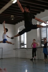 Cuba ballet practice Havana Cuba