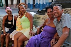 Cuban family in Havana, Cuba