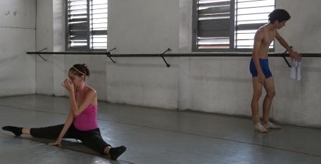 Cuba ballet practice
