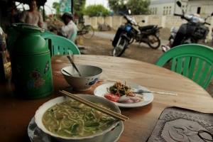 Noodle soup in Myanmar, Nyaung Shwe