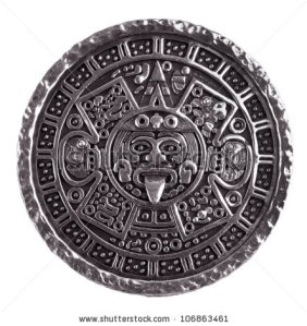 How did I get this far in life without my own photo of a Mayan calendar? Thank you, Shutterstock.