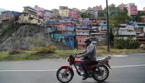 colorful houses outside Caracas