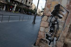 Israel (at least Tel Aviv and Jerusalem) has a good graffiti scene