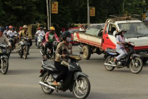 Mandalay traffic