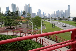 Arterial highways in Panama City