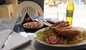 Pollo and palabras in Peru