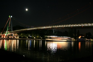 The bridge in Frankfurt where I spent an inordinate amount of time listening to Elliot Smith