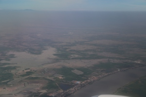 Cambodia from above