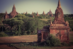 Bagan was beautiful, even when I hadn't slept