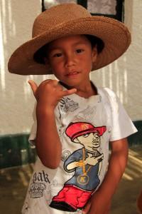 The kids at Casa Generacion thoroughly enjoyed my hat