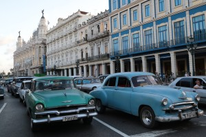 It was an average Sunday in Havana a couple days ago