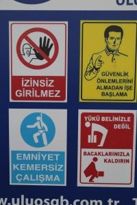 I'm kind of loving Turkish warning signs.