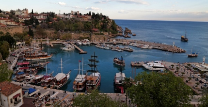 Antalya harbor, trustworthy tourism