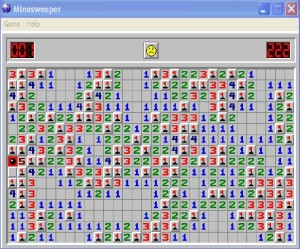 Oh man, how much would THAT suck? I do love me a good minesweeper joke.