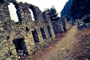 The necropolis at Olympos