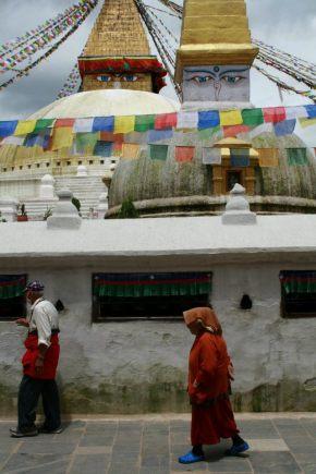 Boudhanath Stupa circuit, July 2011