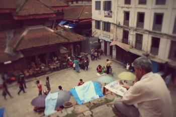 Nepal temple read