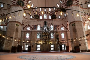 Suleiman the Magnificent mosque in Istanbul last week