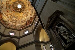 Brunelleschi dome Duomo fresco