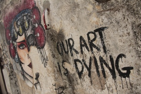 Our art is dying, Penang
