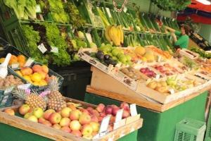Viktualienmarkt produce