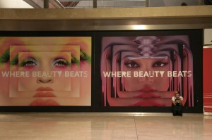 Beauty beats in the Milan train station