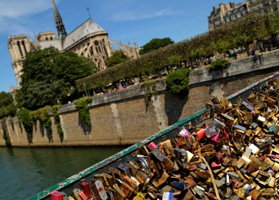 Locks and love, historical churches, great weather, yada yada yada I know, Paris is beautiful