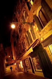 nighttime cityscape photography