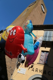 Balloons and the Moor's Tower, Orvieto